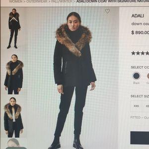 Mackage  Adali down jacket with Fur